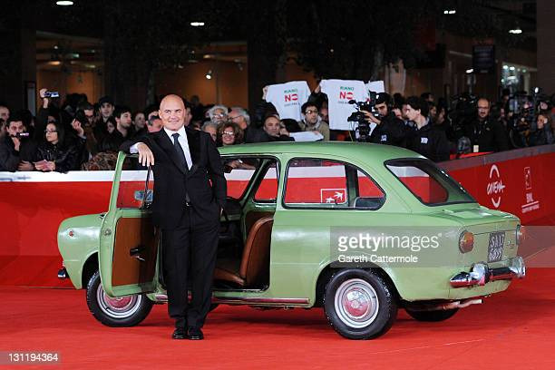 Actor Luca Zingaretti attend the 'La Kryptonite Nella Borsa' And 'Dead Man Talking' Premiere during the 6th International Rome Film Festival on...