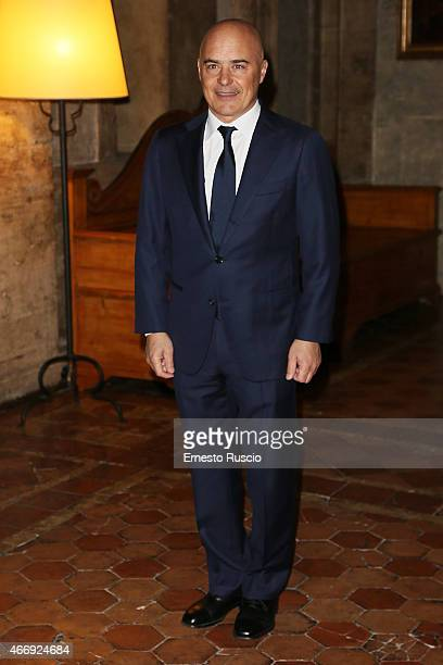 Actor Luca Zingaretti attends the 'Gout De France / Good France' Gala Dinner at the France's embassy Palazzo Farnese on March 19 2015 in Rome Italy
