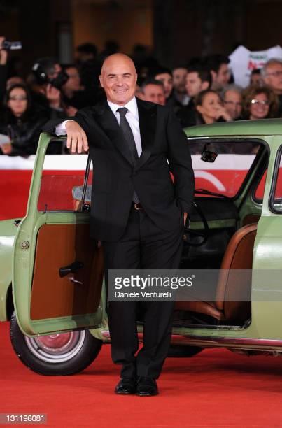 Actor Luca Zingaretti attends the 'La Kryptonite Nella Borsa' Premiere during the 6th International Rome Film Festival at Auditorium Parco Della...