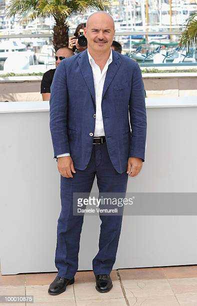 Actor Luca Zingaretti attends the 'Our Life' Photo Call held at the Palais des Festivals during the 63rd Annual International Cannes Film Festival on...