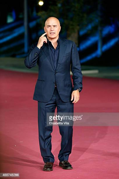 Actor Luca Zingaretti attends the Roma Fiction Fest 2014 Closing Ceremony Pink Carpet at Auditorium Parco Della Musica on September 19 2014 in Rome...