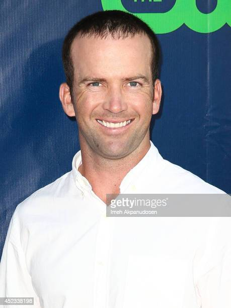 Actor Lucas Black attends the CBS The CW Showtime CBS Television Distribution's 2014 TCA Summer Press Tour Party at Pacific Design Center on July 17...