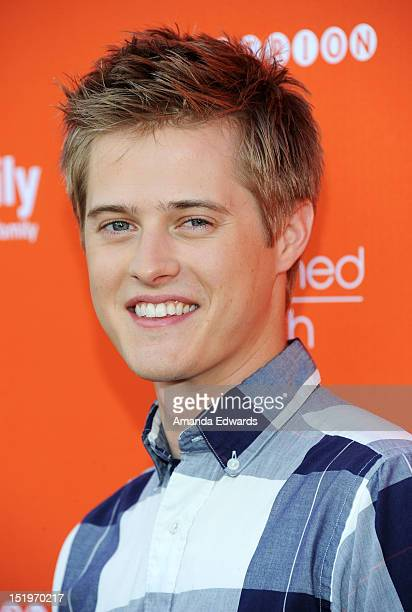 Actor Lucas Grabeel arrives at ABC Family's Switched At Birth Fall Premiere Book Launch Party at The Redbury Hotel on September 13 2012 in Hollywood...