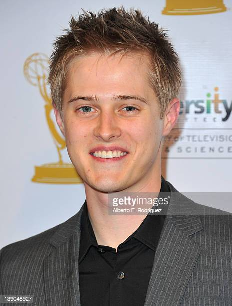 Actor Lucas Grabeel arrives to The Academy of Television Arts Sciences Diversity Committee and ABC Family Presents Switched at Birth at Television...