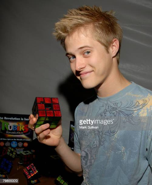 Actor Lucas Grabeel in the Tiger Electronics Celebrity Retreat Produced By Backstage Creations At Teen Choice 07 held at the Gibson Amphitheatre in...