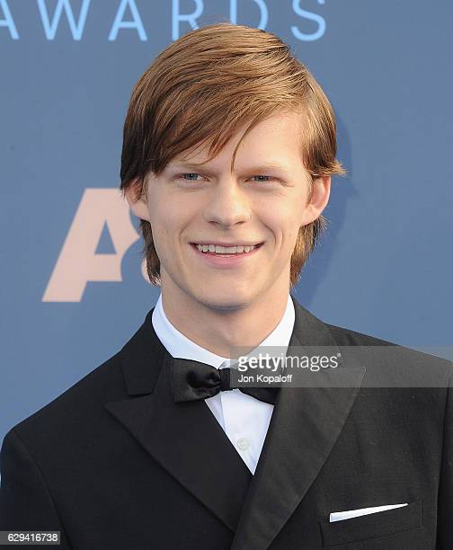 Actor Lucas Hedges arrives at The 22nd Annual Critics' Choice Awards at Barker Hangar on December 11 2016 in Santa Monica California
