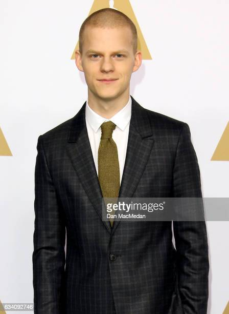 Actor Lucas Hedges arrives at the 89th Annual Academy Awards Nominee Luncheon at The Beverly Hilton Hotel on February 6 2017 in Beverly Hills...