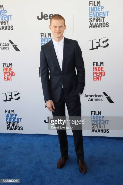 Actor Lucas Hedges attends the 2017 Film Independent Spirit Awards on February 25 2017 in Santa Monica California
