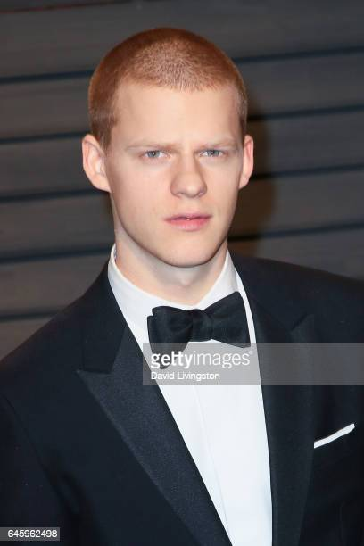 Actor Lucas Hedges attends the 2017 Vanity Fair Oscar Party hosted by Graydon Carter at the Wallis Annenberg Center for the Performing Arts on...