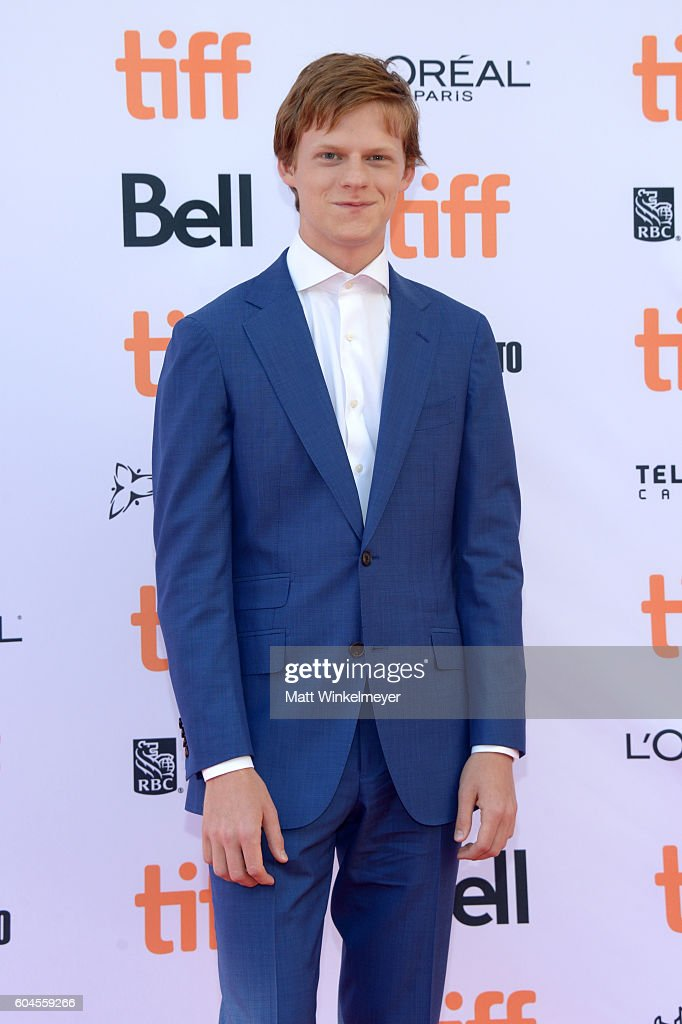 Actor Lucas Hedges attends the 'Manchester by the Sea' premiere during the 2016 Toronto International Film Festival at Princess of Wales Theatre on September 13, 2016 in Toronto, Canada.