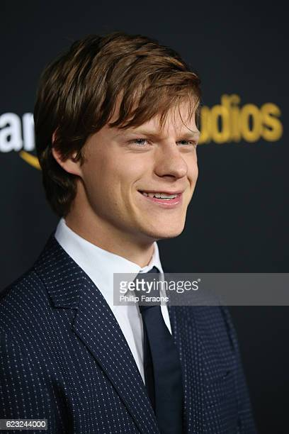 Actor Lucas Hedges attends the premiere of Amazon Studios' 'Manchester By The Sea' at Samuel Goldwyn Theater on November 14 2016 in Beverly Hills...