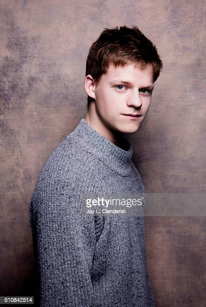 Actor Lucas Hedges from the film 'Manchester by the Sea' poses for a portrait at the 2016 Sundance Film Festival on January 24 2016 in Park City Utah...