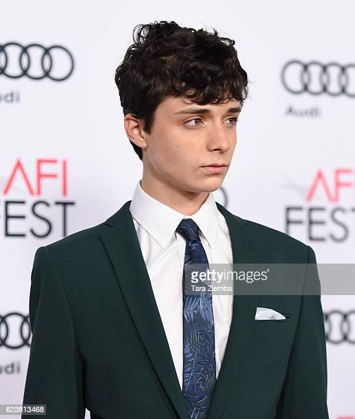 Actor Lucas Jade Zumann attends a tribute to Annette Bening and gala screening of A24's '20th Century Women' at AFI Fest 2016 presented by Audi at...