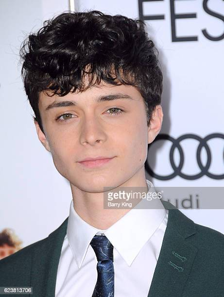 Actor Lucas Jade Zumann attends AFI FEST 2016 Presented By Audi - A Tribute To Annette Bening And Gala Screening Of A24'd '20th Century Women' at TCL...