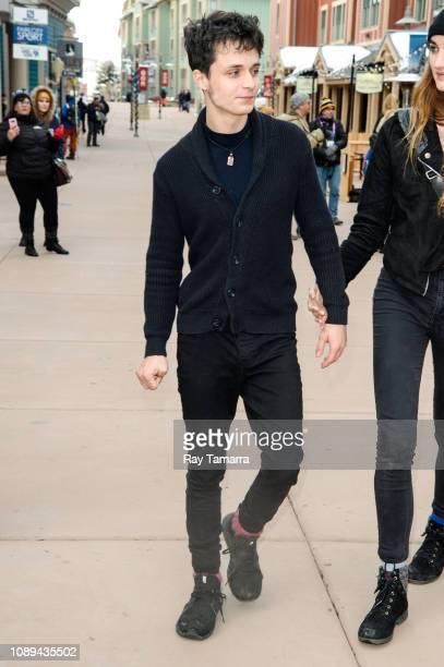 Actor Lucas Jade Zumann attends the 2019 Sundance Film Festival on January 25 2019 in Park City Utah