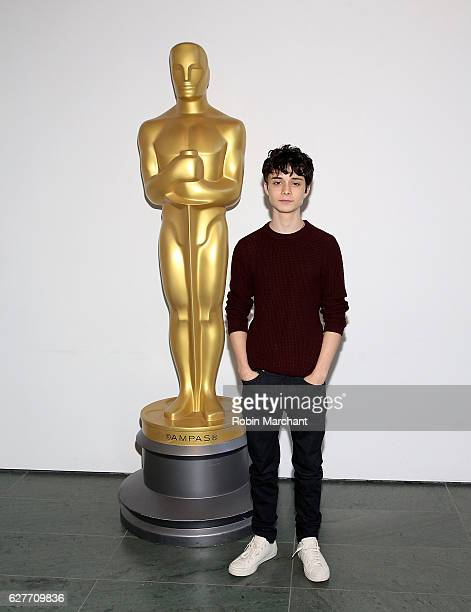 Actor Lucas Jade Zumann attends The Academy of Motion Picture Arts and Sciences Hosts an Official Academy Screening of 20TH CENTURY WOMEN at MOMA...