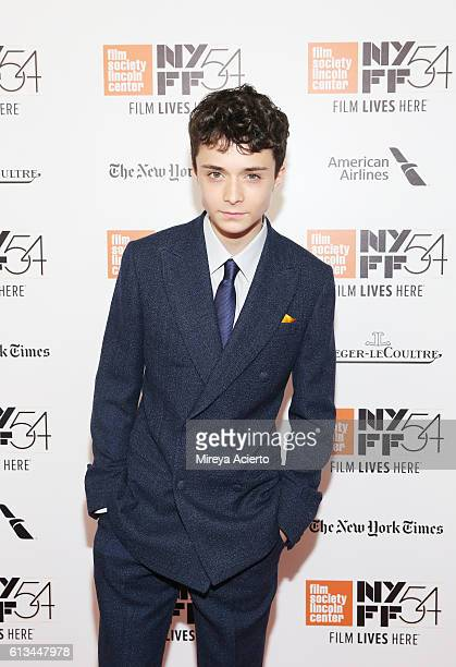 Actor Lucas Jade Zumann attends the premiere of 20th Century Women at the 54th New York Film Festival on October 8 2016 in New York City