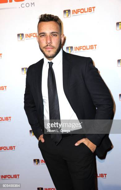 Actor Lucas Lockwood attends the INFOListcom's PreOscar Soiree and Jeff Gund Birthday Party held at Mondrian Sky Bar on February 27 2018 in West...