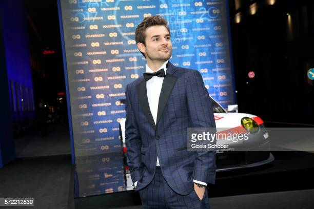 Actor Lucas Reiber arrives for the GQ Men of the year Award 2017 at Komische Oper on November 9 2017 in Berlin Germany