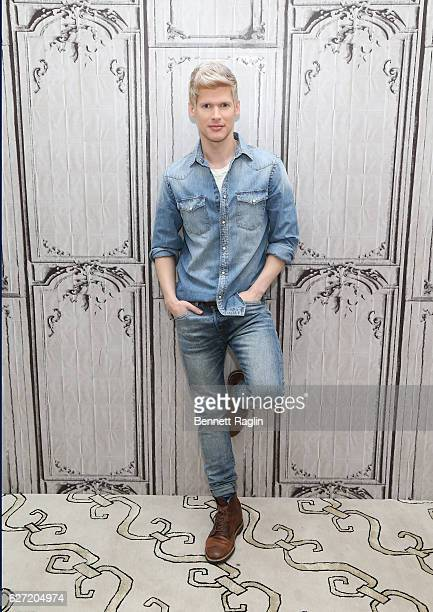 Actor Lucas Steele attends the Build series at AOL HQ on December 2 2016 in New York City