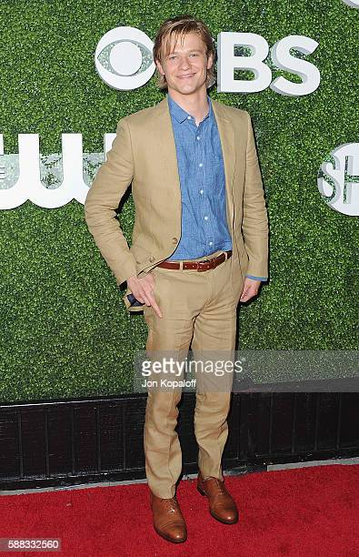 Actor Lucas Till arrives at CBS, CW, Showtime Summer TCA Party at Pacific Design Center on August 10, 2016 in West Hollywood, California.