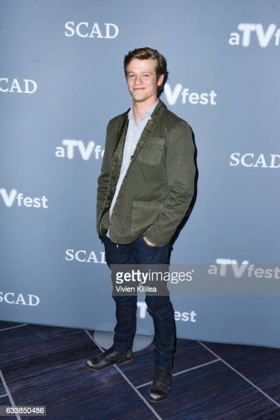 Actor Lucas Till attends a press junket for 'The MacGyver' on Day Three of the aTVfest 2017 presented by SCAD on February 4 2017 in Atlanta Georgia