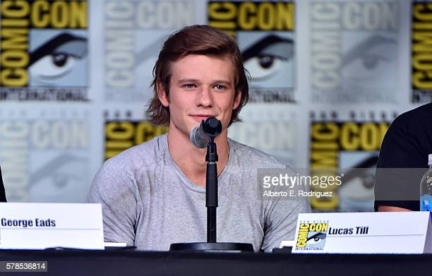 Actor Lucas Till attends CBS Television Studios Block Including Scorpion American Gothic And MacGyver during ComicCon International 2016 at San Diego...