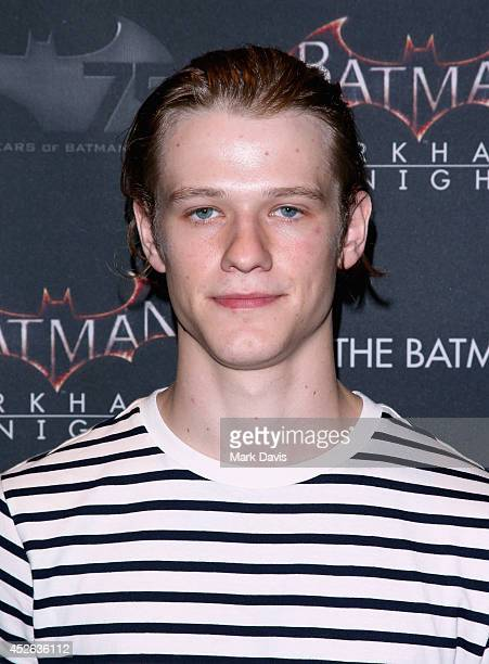 Actor Lucas Till attends Warner Bros Interactive Entertainment's 'Cape/Cowl/Create' event in downtown San Diego a celebration of the iconic...