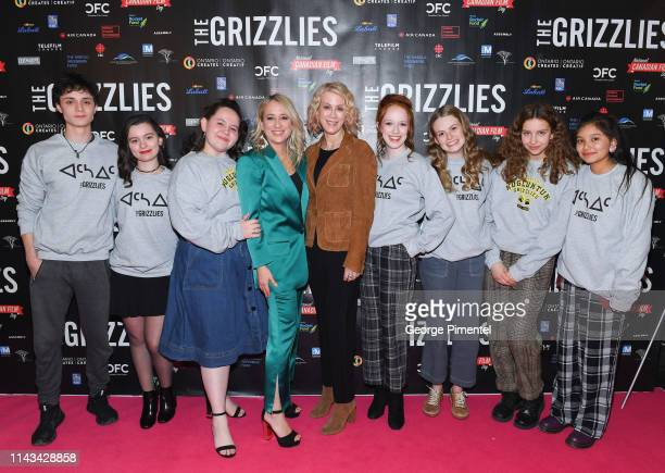Actor Lucas Zumann, Actress Dalila Bela, Actress Glenna Walters, Director/Producer Miranda de Pencier, Writer Moira Walley-Beckett, Actress Amybeth...