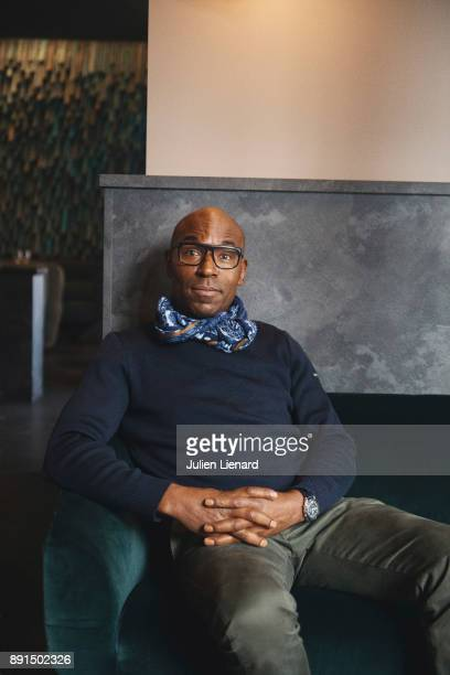 Actor Lucien JeanBaptiste is photographed for Self Assignment in November 2017 in Paris France