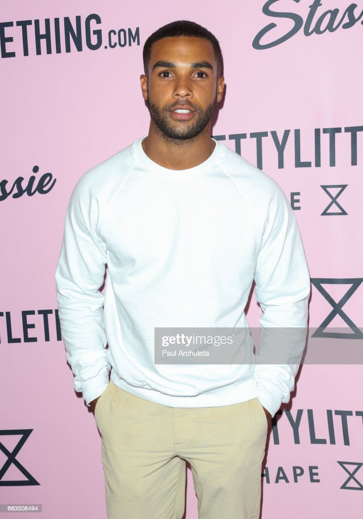 Actor Lucien Laviscount attends the 'PrettyLittleThing' campaign launch on April 11, 2017 in Los Angeles, California.