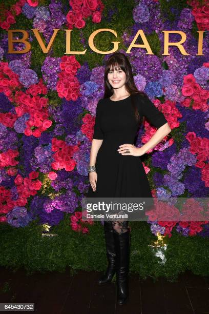 Actor Lucila Sola attends Bulgari's PreOscar Dinner at Chateau Marmont on February 25 2017 in Hollywood United States