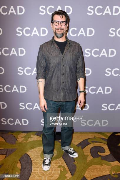 Actor Lucky Yates attends a press junket for 'Archer' on Day 1 of the SCAD aTVfest 2018 on February 1 2018 in Atlanta Georgia