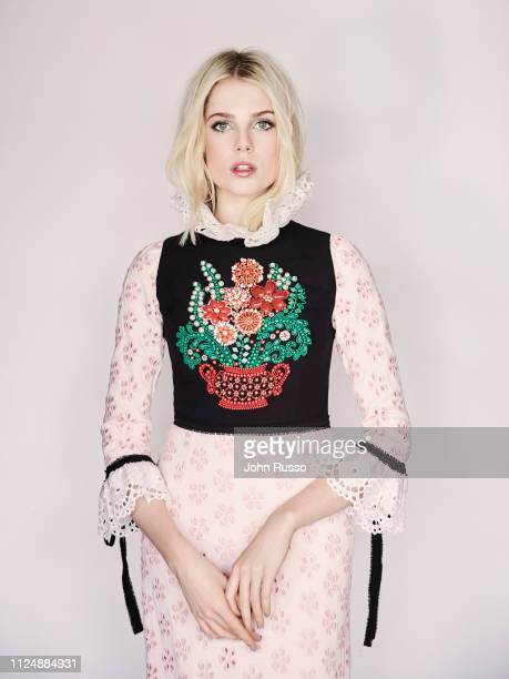 Actor Lucy Boynton is photographed for 20th Century Fox on June 14 2018 in London England