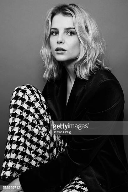 Actor Lucy Boynton is photographed for The Picture Journal on May 10 2016 in London England