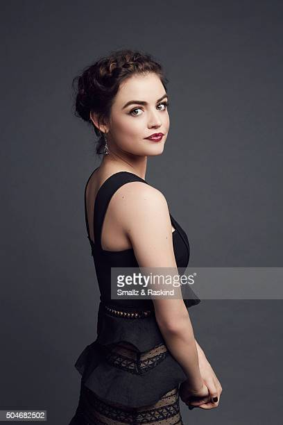 Actor Lucy Hale poses for a portrait at the 2016 People's Choice Awards at the Microsoft Theater on January 6, 2016 in Los Angeles, California.