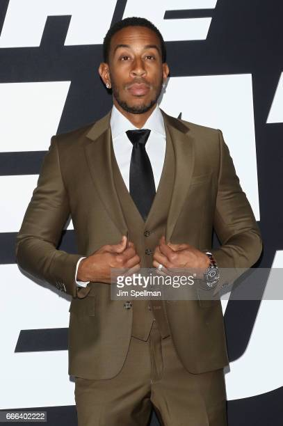Actor Ludacris attends The Fate Of The Furious New York premiere at Radio City Music Hall on April 8 2017 in New York City