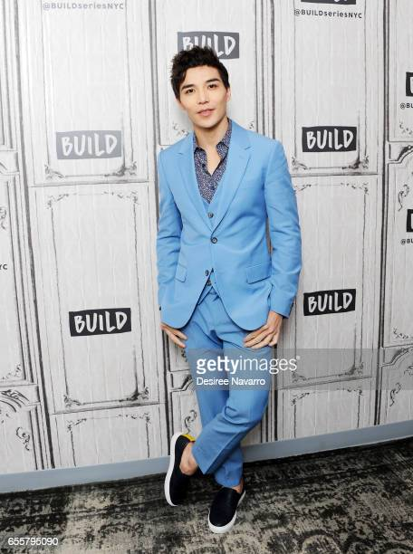 Actor Ludi Lin attends Build Series to discuss 'Power Rangers' at Build Studio on March 20 2017 in New York City
