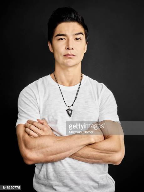Actor Ludi Lin from 'Power Rangers' is photographed for Entertainment Weekly Magazine on July 22 2016 at Comic Con in the Hard Rock Hotel in San...