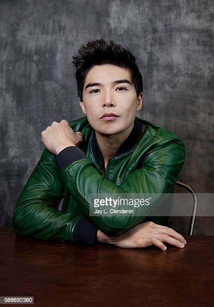 Actor Ludi Lin of 'Power Rangers' is photographed for Los Angeles Times at San Diego Comic Con on July 22 2016 in San Diego California