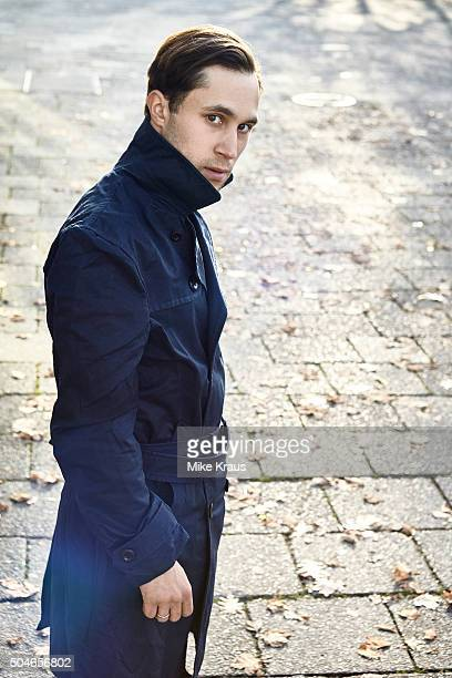 Actor Ludwig Trepte is photographed for Self Assignment on November 15 2015 in Berlin Germany