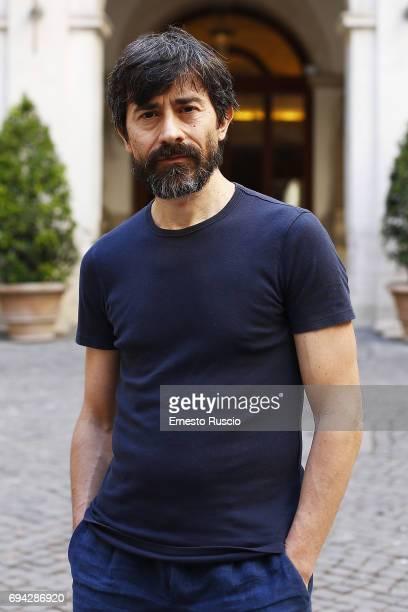 Actor Luigi Lo Cascio reads 'Rovine' by Gabriele Tinti at Palazzo Altemps on June 9 2017 in Rome Italy