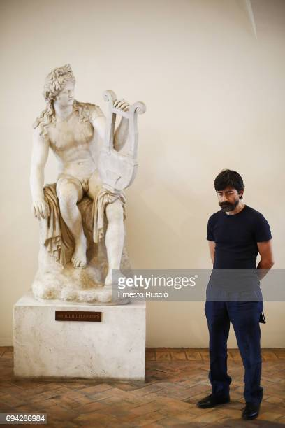 Actor Luigi Lo Cascio reads 'Rovine' by Gabriele Tinti at Palazzo Altemps on June 9 2017 in Rome Italy