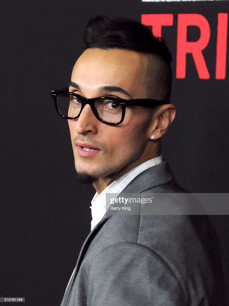 Actor Luis Da Silva Jr. attends the Premiere of Open Road's 'Triple 9' at Regal Cinemas L.A. Live on February 16, 2016 in Los Angeles, California.