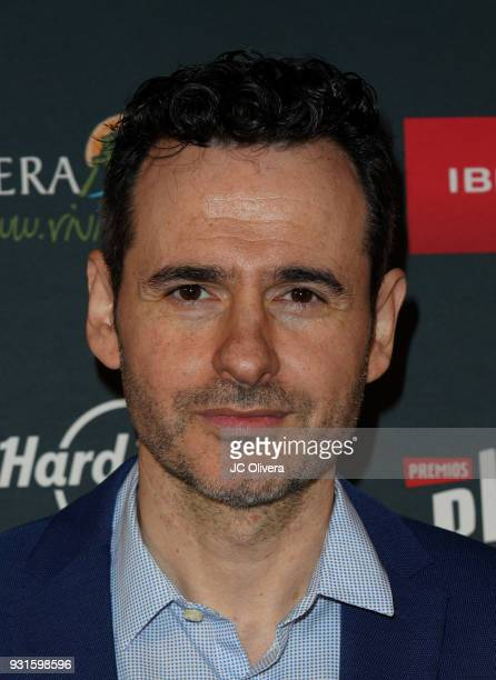 Actor Luis Miguel Segui attends the 5th Annual Premios PLATINO Of Iberoamerican Cinema Nominations Announcement at Hollywood Roosevelt Hotel on March...