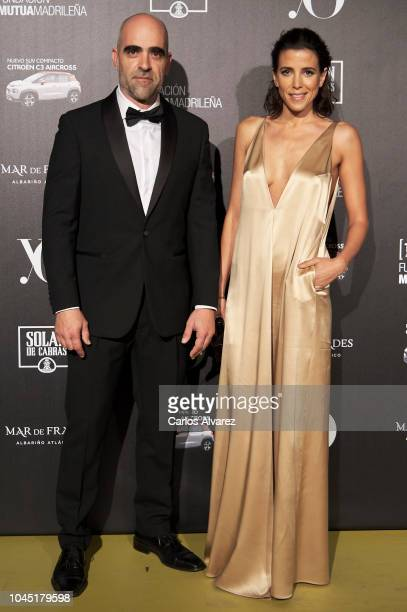 Actor Luis Tosar and Maria Luis Mayol attend the 'YO DONA' International Awards 2018 at Palacio de Linares on October 3 2018 in Madrid Spain