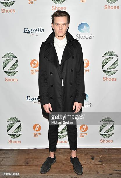 Actor Luke Baines arrives at Not For Sale x Z Shoes Benefit at Estrella Sunset on December 9, 2016 in West Hollywood, California.