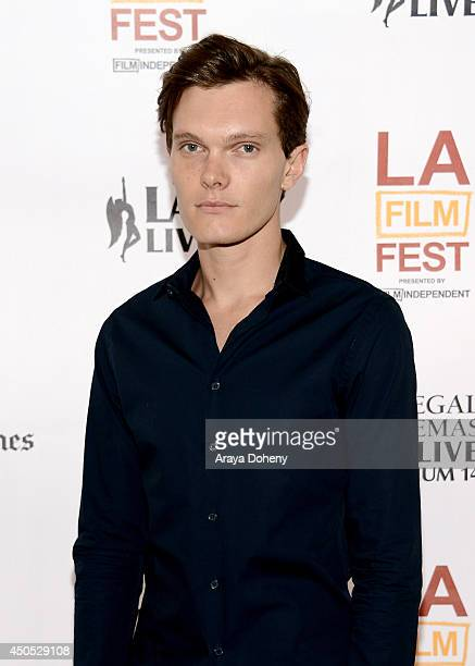 """Actor Luke Baines attends """"The Ever After"""" premiere during the 2014 Los Angeles Film Festival at Regal Cinemas L.A. Live on June 12, 2014 in Los..."""