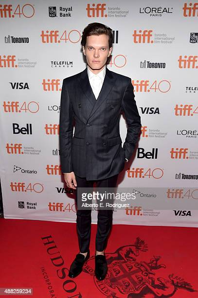 "Actor Luke Baines attends ""The Girl In The Photographs"" photo call during the 2015 Toronto International Film Festival at Ryerson Theatre on..."
