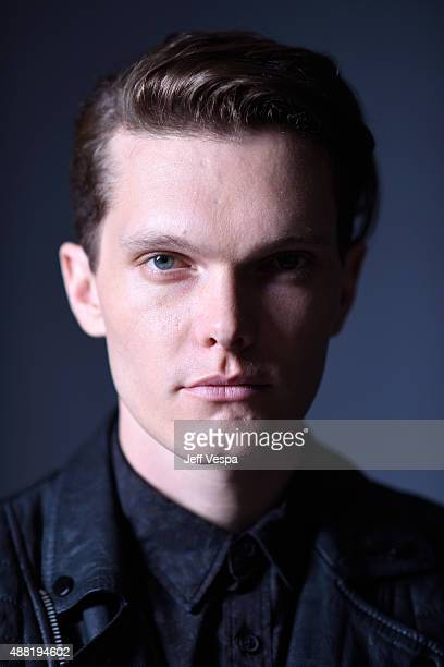 """Actor Luke Baines from """"Girl In The Photographs"""" poses for a portrait during the 2015 Toronto International Film Festival at the TIFF Bell Lightbox..."""